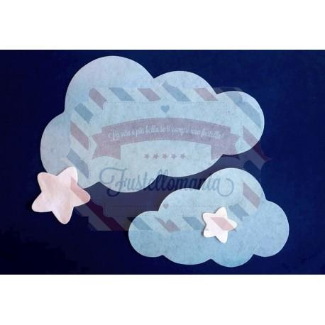 Fustella PRO Nuvola e stelle