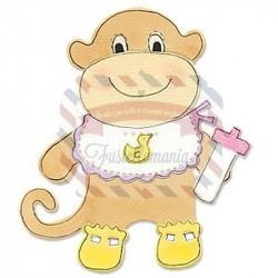 Fustella Sizzix Bigz Animal Dress Ups Monkey