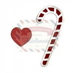 Fustella Sizzix Bigz Candy Canes & Heart