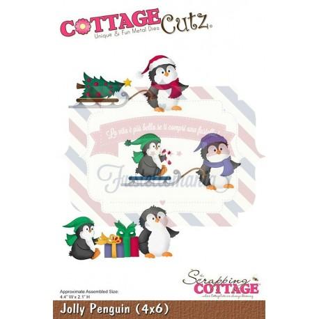 Fustella metallica Cottage Cutz Jolly Penguin