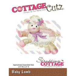 Fustella metallica Cottage Cutz Baby Lamb