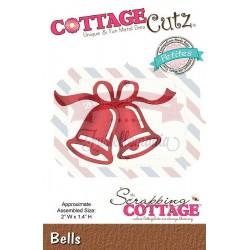 Fustella metallica Cottage Cutz Bells (Petites)