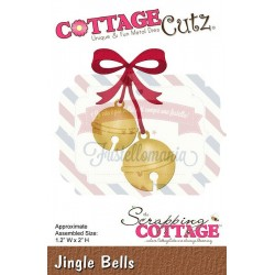 Fustella metallica Cottage Cutz Jingle Bells