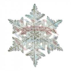 Fustella Sizzix Bigz Tim Holtz Layered Snowflake