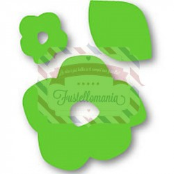 Fustella Sizzix Originals Green Fiori