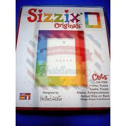 Fustella Sizzix Originals Frame Puzzle