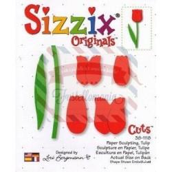 Fustella Sizzix Originals Tulipano