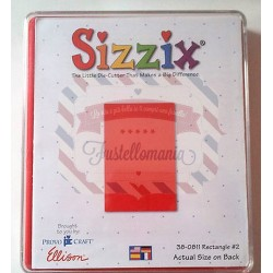 Fustella Sizzix Originals Rettangolo 2