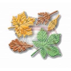 Fustella metallica Set di foglie