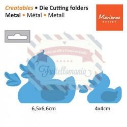 Fustella metallica Marianne Design Creatables Rubber duck