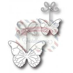 Fustella metallica Memory Box Precious Butterflies