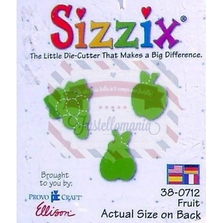 Fustella Sizzix Originals Green Fruit
