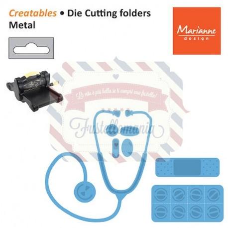 Fustella metallica Marianne Design Creatables Hospital