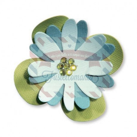 Fustella Sizzix Originals Flower Layers 4