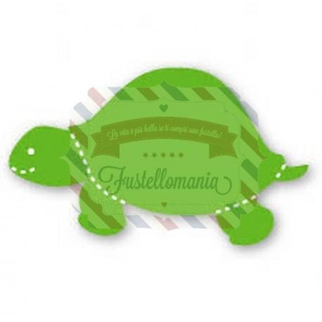 Fustella Sizzix Originals Green Tartaruga