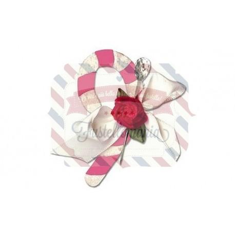 Fustella Sizzix Originals Candy Cane 2