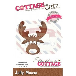 Fustella metallica Cottage Cutz Jolly Moose