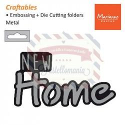 Fustella metallica Marianne Design Craftables New Home