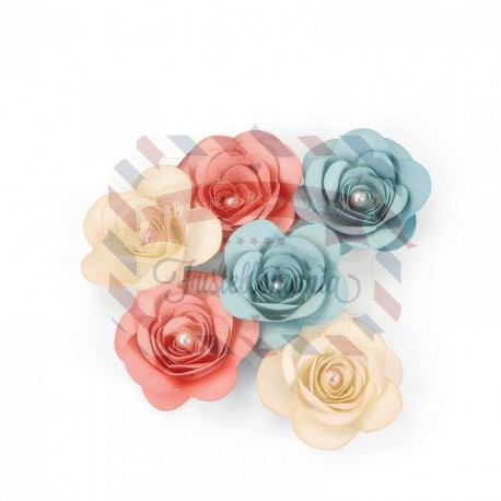 Fustella Sizzix Bigz Love Birds 3-D Rose
