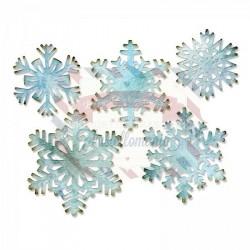 Fustella Sizzix Thinlits Fiocchi di neve