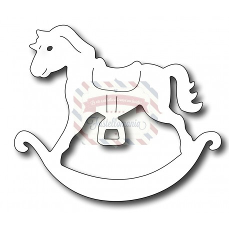 Fustella metallica Rocking Horse
