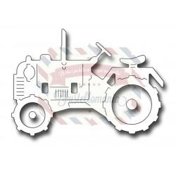 Fustella metallica Tractor