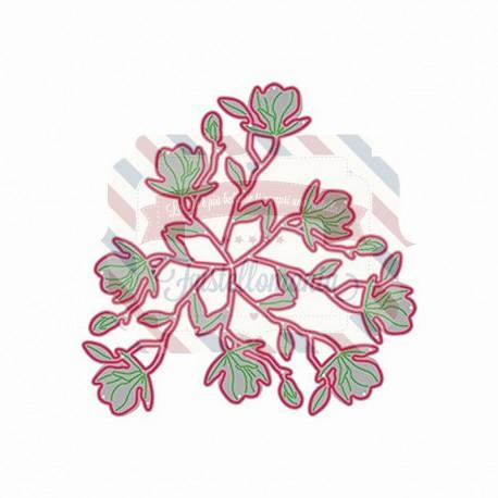 Fustella metallica Bloemen