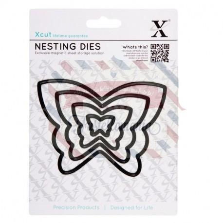 Fustella metallica Xcut Butterflies