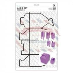 Fustella metallica Xcut Butterfly Box A4