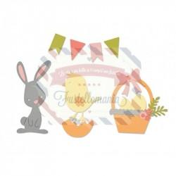 Fustella Sizzix Thinlits Pasqua