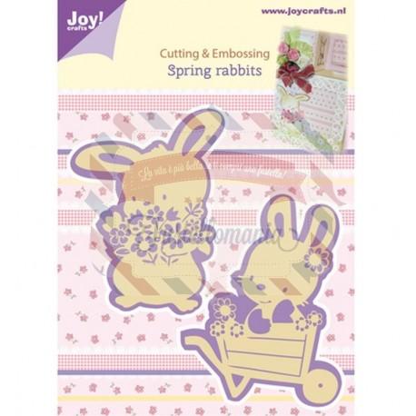 Fustella metallica Joy! Crafts Spring Rabbits