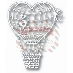Fustella metallica Tutti Designs Heart Air Balloon