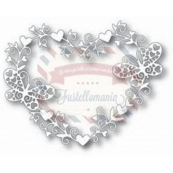 Fustella metallica Tutti Designs Love Butterfly Theme