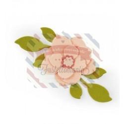 Fustella Sizzix Bigz Asian Flower