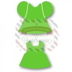 Fustella Sizzix Originals Green Bitty Dress Set