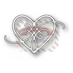 Fustella metallica Memory Box Peyton Heart