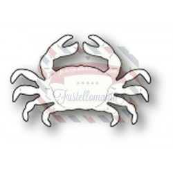 Fustella metallica Memory Box Coastal Crab
