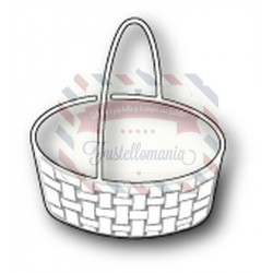 Fustella metallica Memory Box Kempsey Basket
