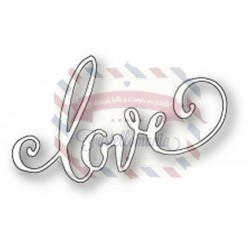 Fustella metallica PoppyStamps Swirled Love