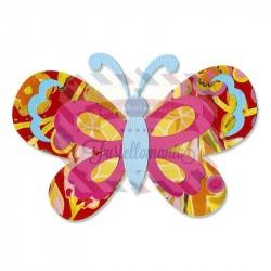 Fustella Sizzix Sizzlits Butterfly Layers