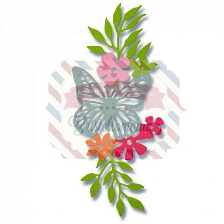 Fustella Sizzix Thinlits Meadow Butterfly 2