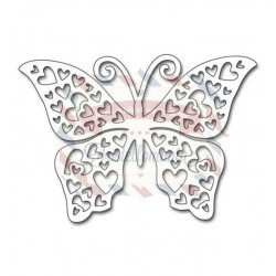 Fustella metallica Penny Black Hearts Butterfly