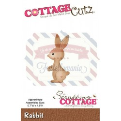 Fustella metallica Cottage Cutz Rabbit