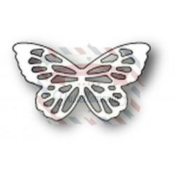 Fustella metallica PoppyStamps Elsa Butterfly