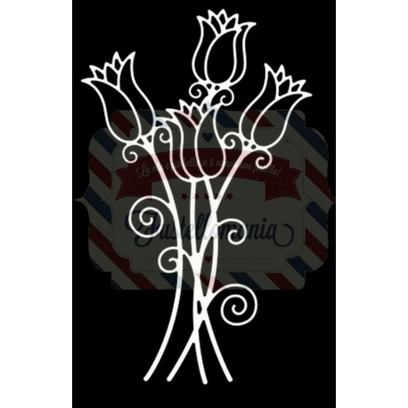 Fustella metallica Tutti Designs Tulip Bunch