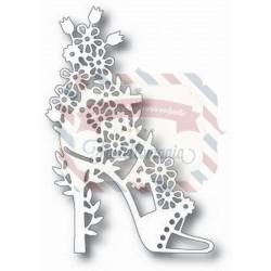 Fustella metallica Tutti Designs Floral Shoe