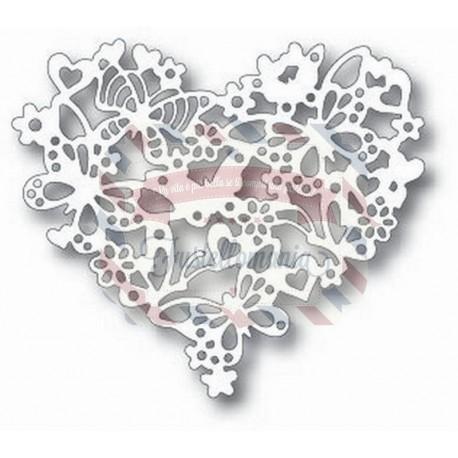 Fustella metallica Tutti Designs Heart Garden