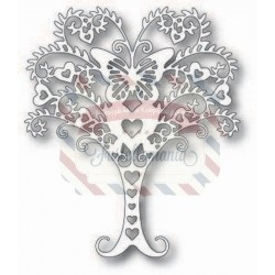 Fustella metallica Tutti Designs Whimsical Love Tree