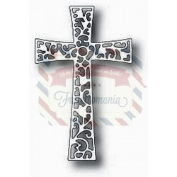 Fustella metallica Tutti Designs Floral Cross