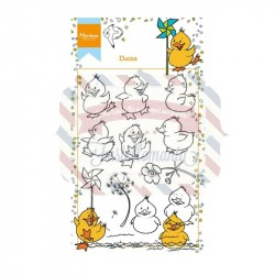 Timbri Marianne Design Clear Stamps Hetty's ducks